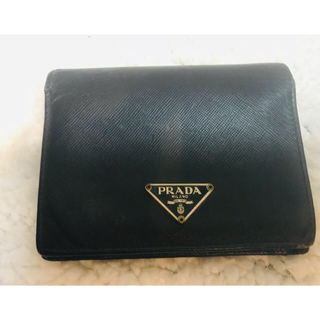 プラダ(PRADA)のPRADA 二つ折り財布(折り財布)