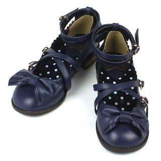 Angelic Pretty - Angelic Pretty Tea Party shoes コン Lサイズ