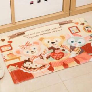ダッフィー - 日本未発売 ステラルー   ダッフィー    マット キッチンマット 玄関マット