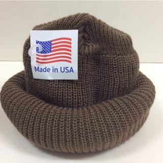 ROTHCO - ロスコニット帽 コヨーテ 新品 USA knitcap