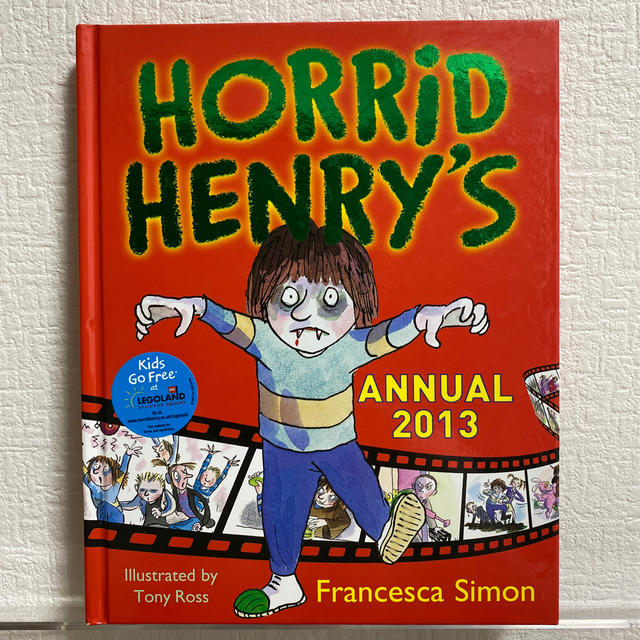HORRID HENRY's  ANNUAL 2013 エンタメ/ホビーの本(アート/エンタメ)の商品写真