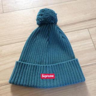 シュプリーム(Supreme)のシュプリームのニット帽(ニット帽/ビーニー)