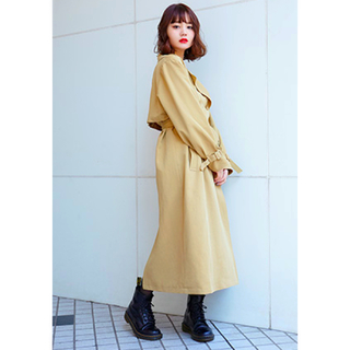 SLY - SLY OVER TRENCH LONG COAT トレンチコート