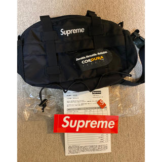 Supreme - supreme waistbag 19fw black