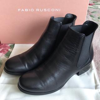FABIO RUSCONI - ファビオルスコーニ サイドゴア ブーツ ショートブーツ