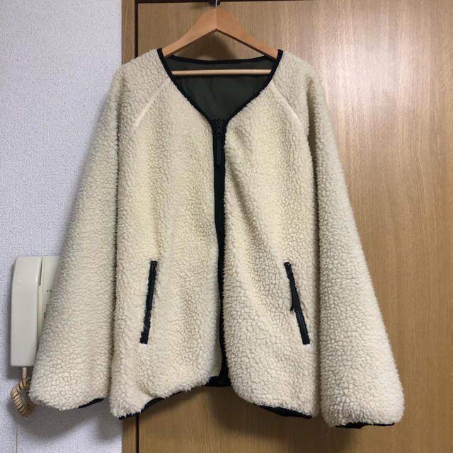 Kastane(カスタネ)のカスタネ * ボアブルゾン レディースのジャケット/アウター(ブルゾン)の商品写真