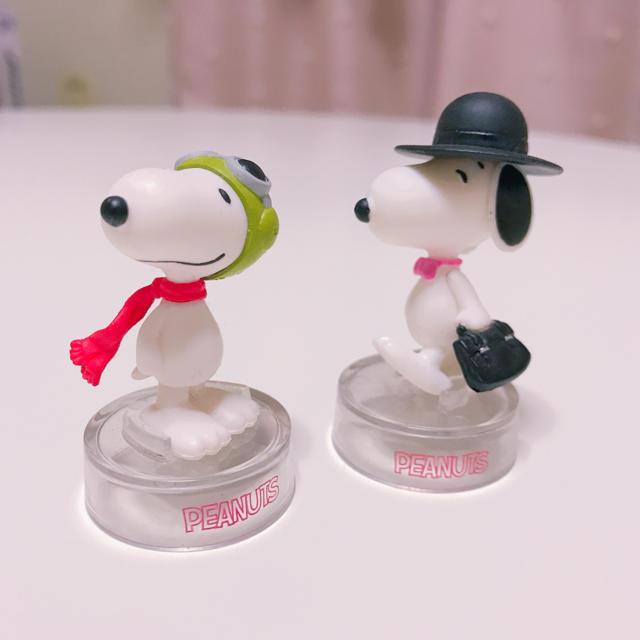 SNOOPY(スヌーピー)のスヌーピー フィギュア セット エンタメ/ホビーのおもちゃ/ぬいぐるみ(キャラクターグッズ)の商品写真