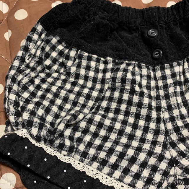 Biquette(ビケット)のパンツ2枚セット 90 キッズ/ベビー/マタニティのキッズ服女の子用(90cm~)(パンツ/スパッツ)の商品写真