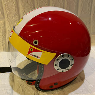 フェラーリ(Ferrari)のフェラーリ 純正 キッズ ヘルメット (ヘルメット/シールド)