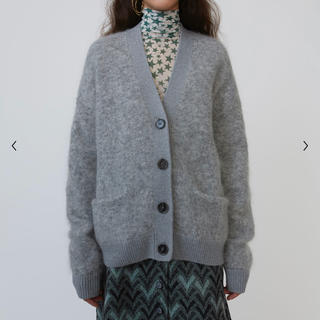 アクネ(ACNE)のAcne Studios RIVES MOHAIR CARDIGAN (カーディガン)