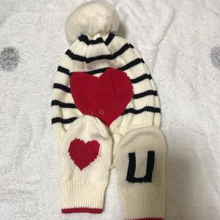 babyGAP - babygap ニット手袋 ニット帽子セット