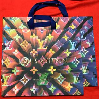 ルイヴィトン(LOUIS VUITTON)のルイヴィトン のショッパー2枚(ショップ袋)