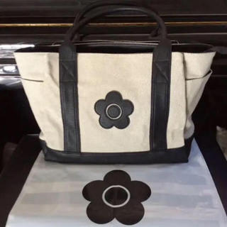 MARY QUANT - Sale❤️肩掛け可能!【新品タグ付き】マリークワント❤️大容量 トート バッグ