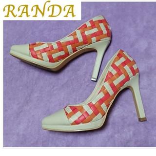 RANDA - カラフルパンプス