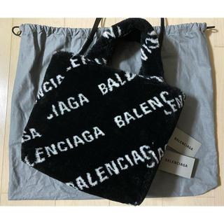 バレンシアガバッグ(BALENCIAGA BAG)の【新品】バレンシアガ❣️フェイクファー トートバッグ(ショルダーバッグ)