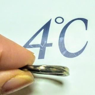 ヨンドシー(4℃)の4℃ 2連リング(リング(指輪))