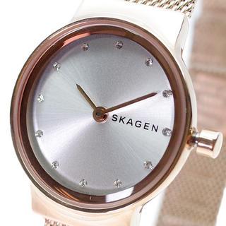 スカーゲン(SKAGEN)のスカーゲン SKAGEN 腕時計 レディース クォーツ シルバー ピンクゴールド(腕時計)