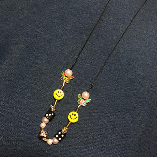 SALUTE/サルーテ *EVAE+ SMILEY PEARL NECKLACE(ネックレス)