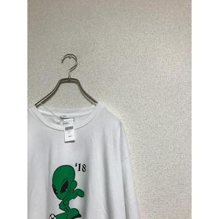 【美品】gosha rubchinskiy エイリアン Tシャツ
