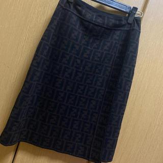 FENDI - FENDI スカート ズッカ柄