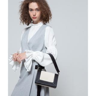 ダブルスタンダードクロージング(DOUBLE STANDARD CLOTHING)のDSC キャンバス×レザー ショルダーバッグ(ハンドバッグ)