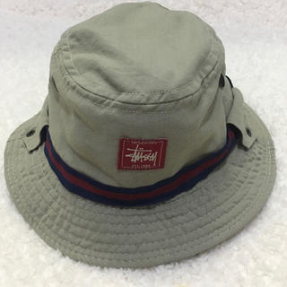 STUSSY - 【レア品】【Made in U.S.A.】STUSSY ステューシー ハット