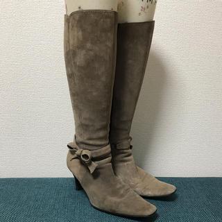 ミッシェルクラン(MICHEL KLEIN)のミッシェルクラン スゥェードブーツ(ブーツ)