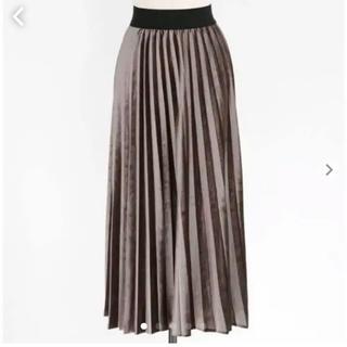 dholic - dholic コーデュロイプリーツスカート