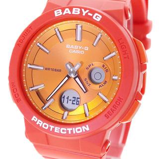 ベビージー(Baby-G)のカシオ CASIO 腕時計 レディース BABY-G クォーツ オレンジ(腕時計)