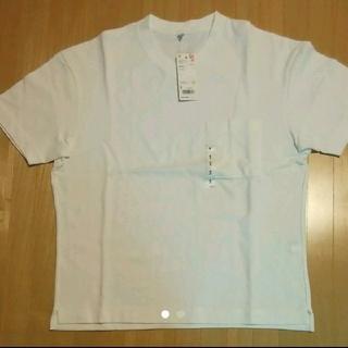 UNIQLO - 【新品タグ付き】ユニクロ ビックシルエットVネックT Tシャツ シャツ デニム