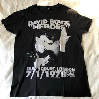 ロサンゼルス現地調達 David Bowie ディビットボウイ ツアーTシャツ(Tシャツ/カットソー(半袖/袖なし))