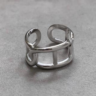 シルバー925 Hデザインリング シルバー silver925(リング(指輪))