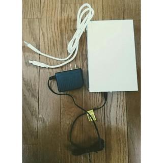 アイオーデータ(IODATA)の【美品】wiiu対応*I-O DATA 外付けHDD*1TB*ハードディスク(PC周辺機器)