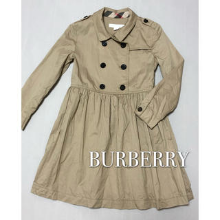 BURBERRY - バーバリー BURBERRY トレンチコート風 ワンピース 110 120