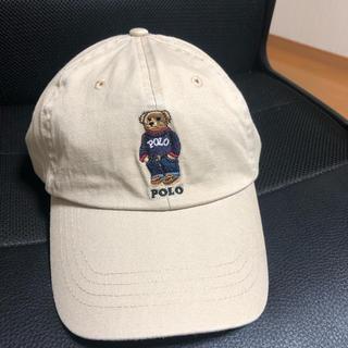 POLO RALPH LAUREN - POLO ラルフローレンキャップ ポケット熊ちゃん ベージュ