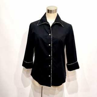 BURBERRY - バーバリーロンドン チェック柄 7分袖 シャツ