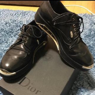 ディオールオム(DIOR HOMME)のdior homme メタルプレートシューズ(ドレス/ビジネス)