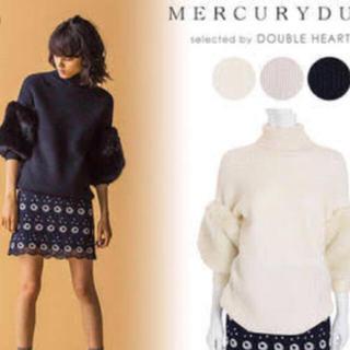 MERCURYDUO - MERCURYDUOフラワーレーススカート