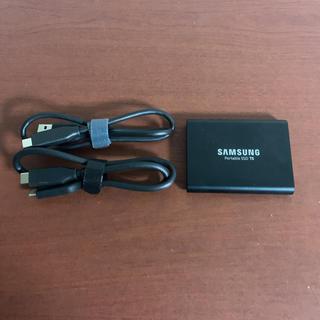 サムスン(SAMSUNG)のSAMSUNG Portable SSD T5 1TB(PC周辺機器)
