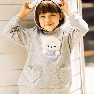 anyFAM - 新品 エニィファム 120cm トレーナー 長袖 Tシャツ キッズ 女の子