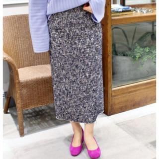 プラージュ(Plage)の【美品】プラージュ Tweedタイトスカート 36(ひざ丈スカート)