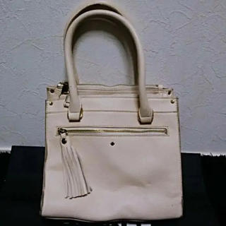 kate spade new york - CLOSSHIクロッシピンクベージュレザーバーキンケリースタイルハンドバッグ