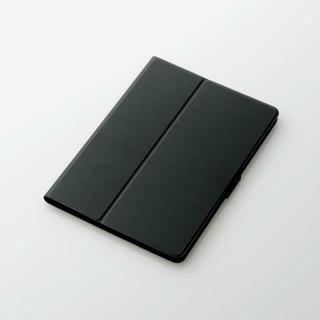 エレコム(ELECOM)のd-tab(d-01K)用薄型フラップカバー ブラック(タブレット)