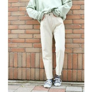 TODAYFUL - 【新品】via j ヴィアジェイ / ホワイトデニムテーパードパンツ