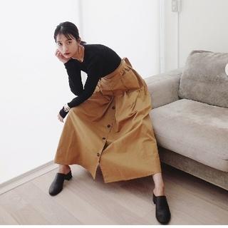 ステュディオス(STUDIOUS)の【新品】STYLEMIXER スタイルミキサー / コットンタックスカート(ロングスカート)