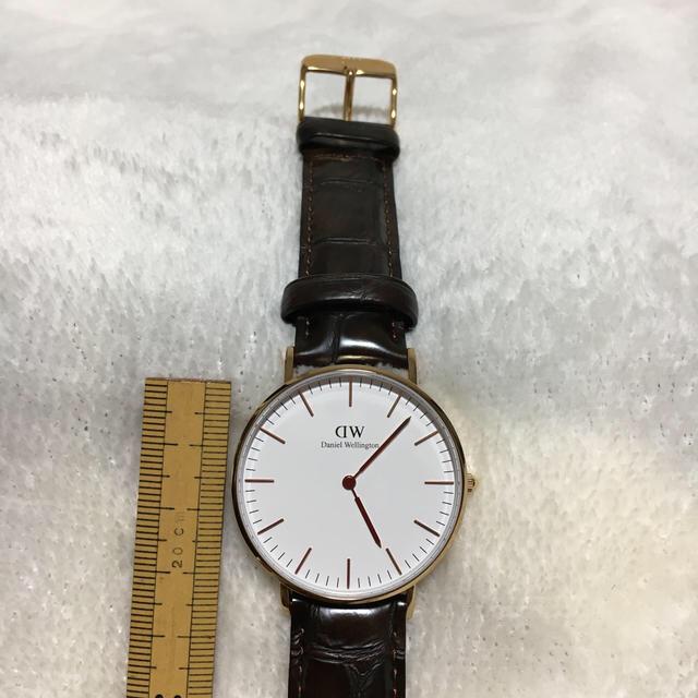Daniel Wellington(ダニエルウェリントン)のダニエル ウィリントン 腕時計 36㎜ レディースのファッション小物(腕時計)の商品写真