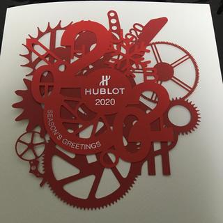 ウブロ(HUBLOT)のHUBLOT ウブロ 会員限定 クリスマスカード(腕時計(アナログ))