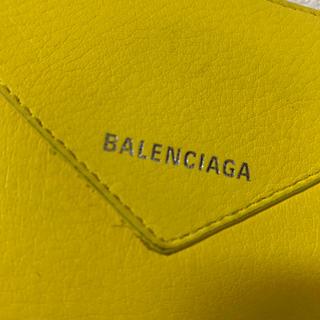 Balenciaga - バレンシアガ 長財布 限定色 黄色