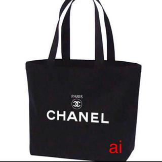 CHANEL - CHANEL  ビックサイズノベルティートートバッグ