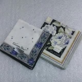 Christian Dior - クリスチャンディオール&ジュンアシダ☆ハンカチ2枚セット